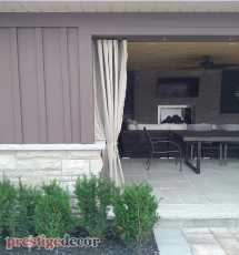 Outdoor curtains Mississauga